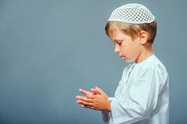 Çocuklara dua öğretme