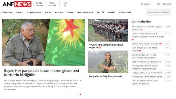 Terör örgütü PKK'nın sözde yöneticileri, haftalık propaganda konuşmalarını ANF üzerinden yayınlıyor.