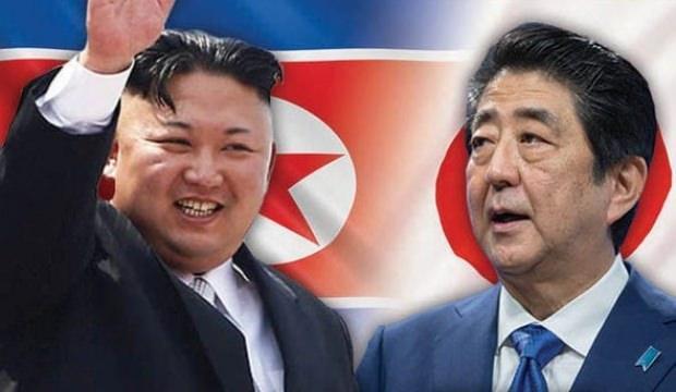 Japonya Başbakanı, Kim Jong-un ile ön koşulsuz 'yüzleşmek' istiyor