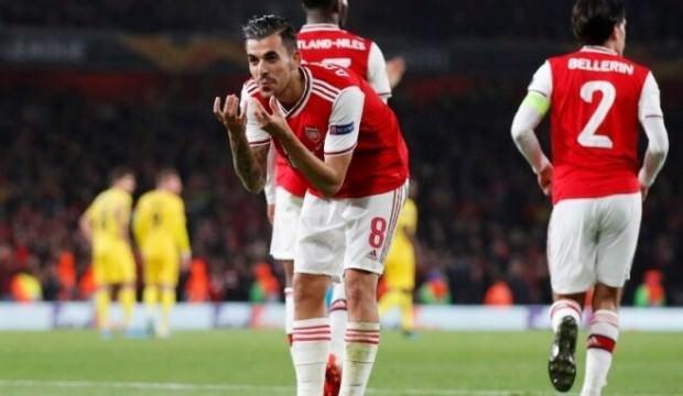 Arsenal'in yedekleri coştu!