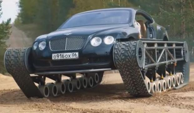 Bentley tanka dönüştü