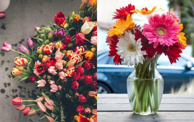 taze çiçek ev dekorasyonu