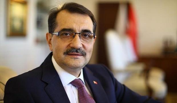 Enerji Bakanı Dönmez'den 'Doğu Akdeniz' açıklaması