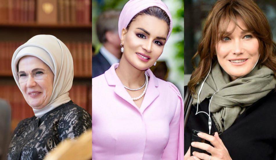 Emine Erdoğan tarzı nasıl oluşturulur? Geçmişten günümüze dünyanın en şık first ladyleri