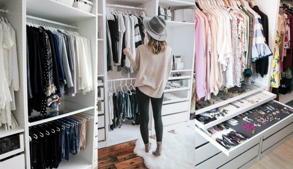 Giyinme odaları nasıl düzenlenir? Giyinme odaları için dekorasyon önerileri