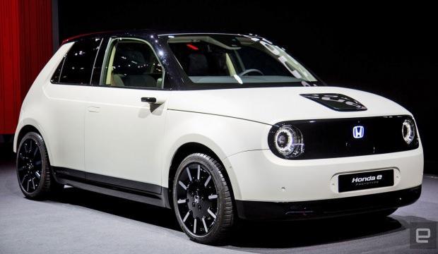 Honda elektrikli modelini tanıttı