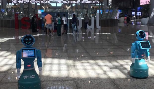 İstanbul Havalimanı'ndaki robotlar Washington Post'ta anlatıldı!