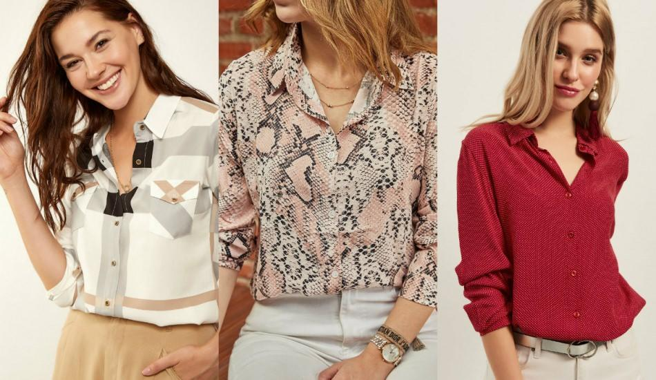 2019 sonbahar gömlek modelleri