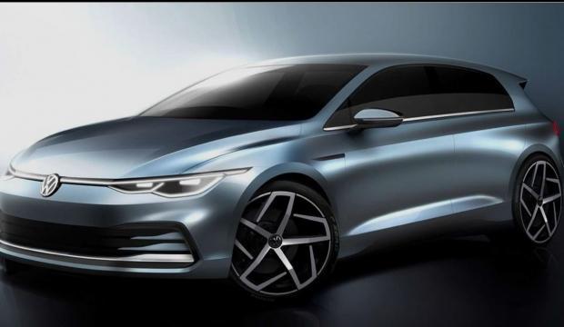 2020 Volkswagen Golf'ün ilk görüntüleri sızdırıldı