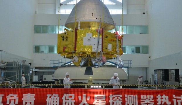 Mars'a gönderilecek uzay aracının fotoğrafı yayınlandı