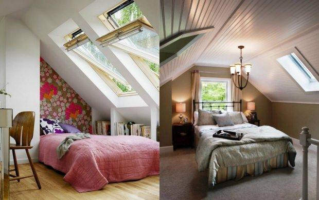 çatı katı dekorasyonu için pratik fikirler