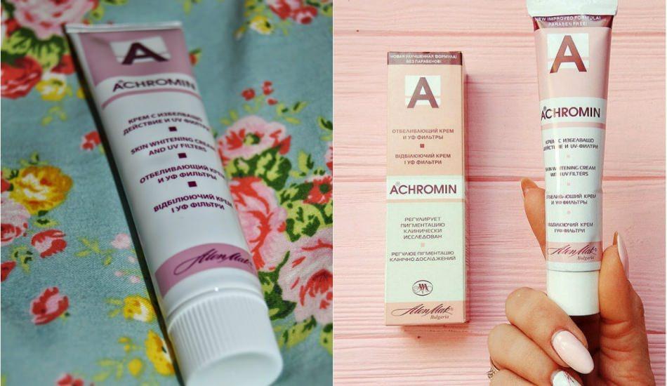 Achromin leke kremi ne işe yarar? Achromin leke kremi nasıl kullanılır?