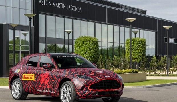 Aston Martin'nin yeni canavarı 550 beygir