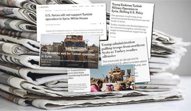 Batı medyası terörle omuz omuza