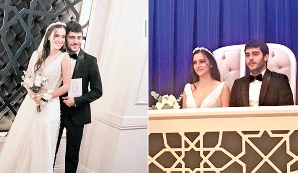 Berkay Hardal ve Dilan Telkök evlendi!