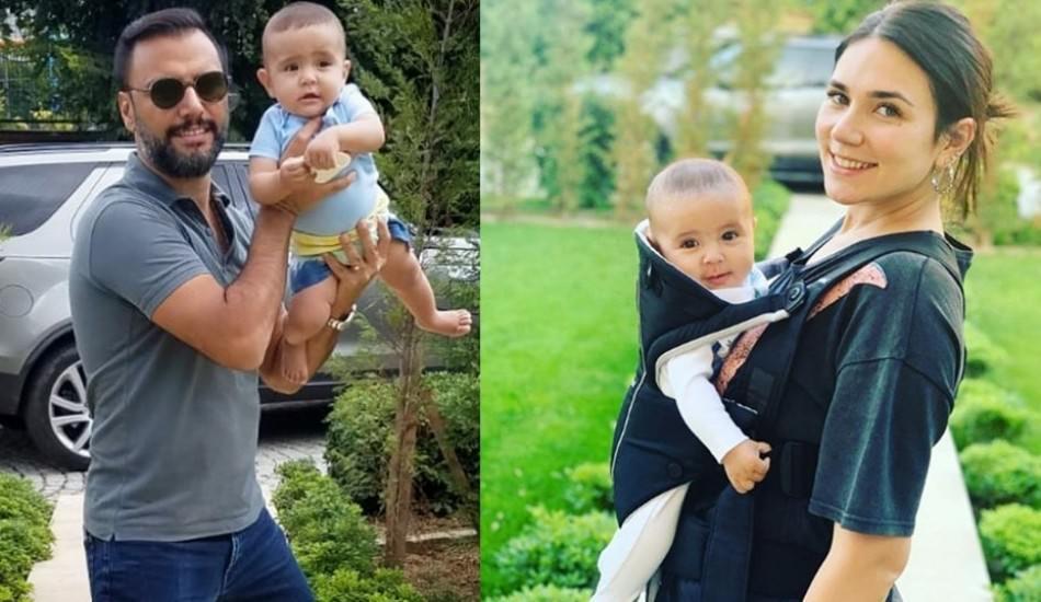 Buse Varol'un oğlu Burak, Çağla Şıkel'in çocuklarıyla tanıştı!