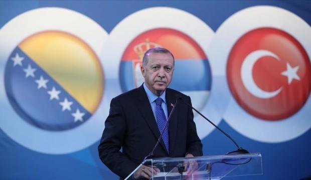 Erdoğan Sırbistan'da: Bu yapıya sembolik bir değer yüklüyoruz!