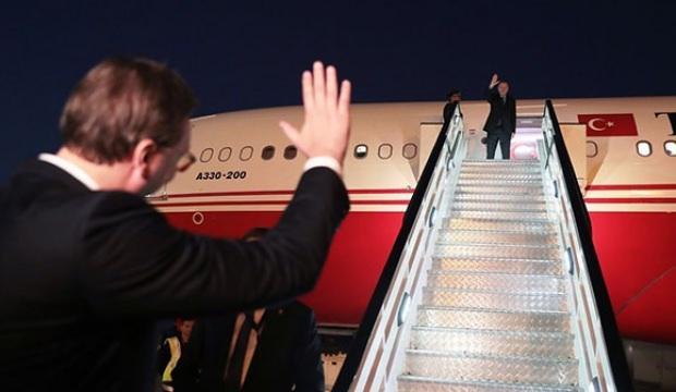 Cumhurbaşkanı Erdoğan, Sırbistan'dan ayrıldı