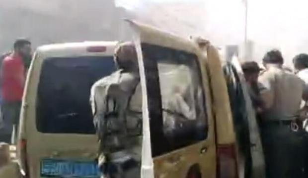 El Bab'ta korkutan patlama! Çok sayıda yaralı var