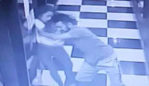 Kendisini asansör boşluğuna iten sevgilisinden şikayetçi olmadı