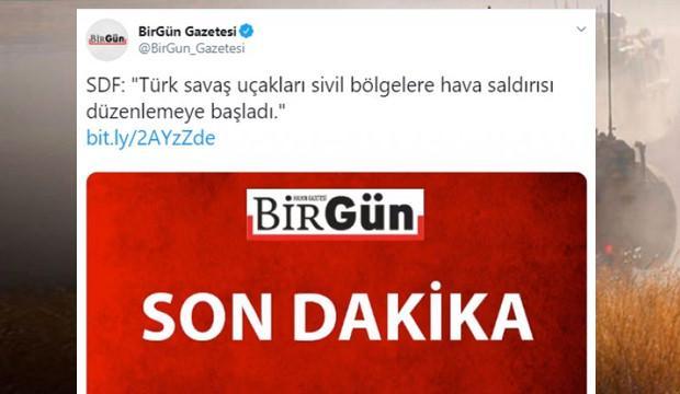Barış Pınarı Harekatı'nı skandal manşetle duyurdular