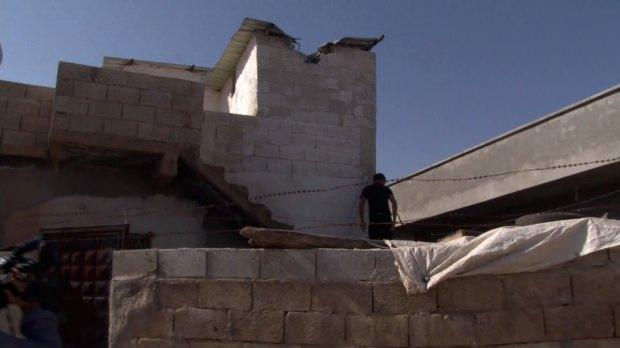 YPG'li teröristlerin attığı roketler sivillerin yaşadığı evlere düştü