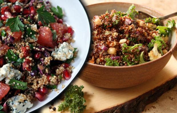 Kinoa salatası nasıl yapılır