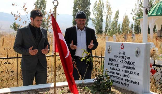 Şehit ailesinden Barış Pınarı Harekatına destek