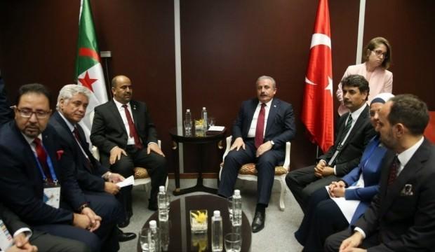 Şentop: Türkiye, güçlü ve güvenilir bir ortak olmaya devam etmektedir