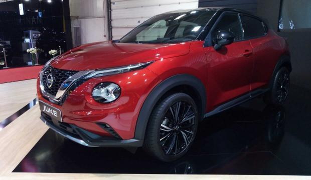 Nissan Juke, yeni tasarımıyla Sofya'da tanıtıldı