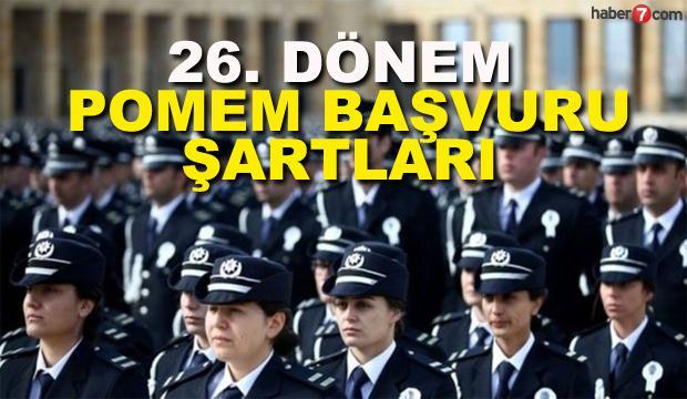 POMEM 7 bin polis alımı başladı! Başvuru şartları neler?
