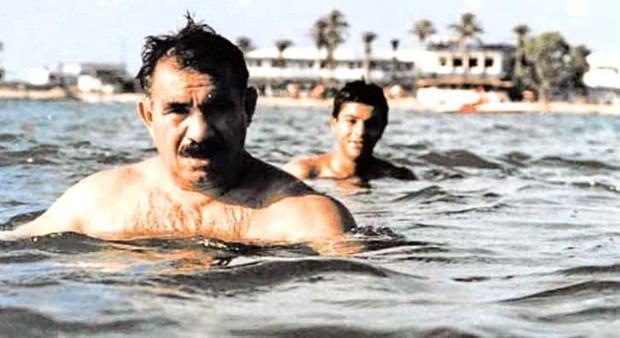Teröristbaşı Abdullah Öcalan ve Mazlum Kobani kod adlı Ferhat Abdi Şahin...