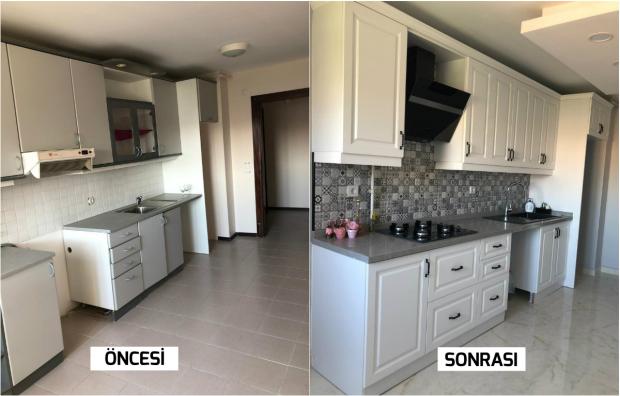 yeni model mutfak dekorasyonu