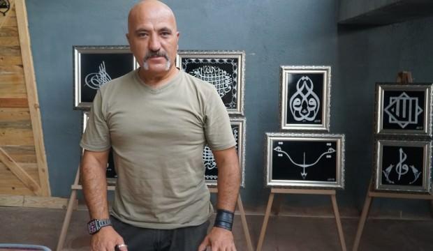 Bakır işleme ustasından Türk ve İslam eserleri