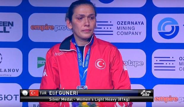 Cumhurbaşkanı Erdoğan Elif Güneri'yi tebrik etti