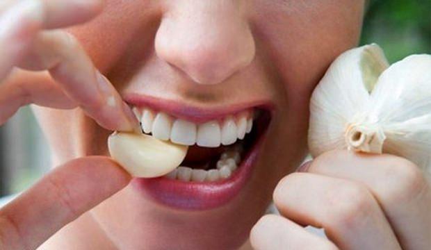 Diş Ağrısı İçin Sarımsak