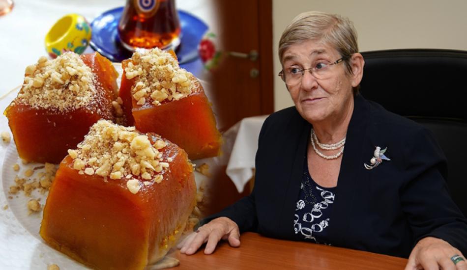 En kolay kabak tatlısı nasıl yapılır? Canan Karatay'dan kabak tatlısı tarifi