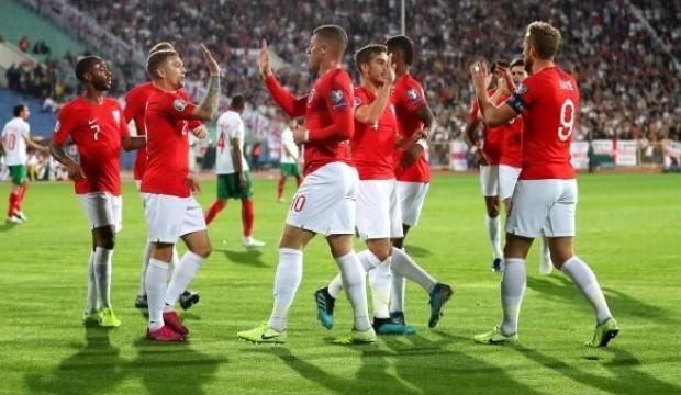 İngiltere, Bulgaristan'da gol şov yaptı!