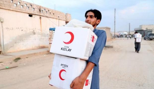 Kızılay'dan, Resulayn'a 'İnsani Yardım'