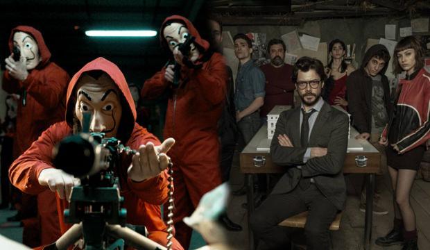 La Casa De Papel 4.yeni sezon için heyecan dorukta! Gözler tarihe çevrildi