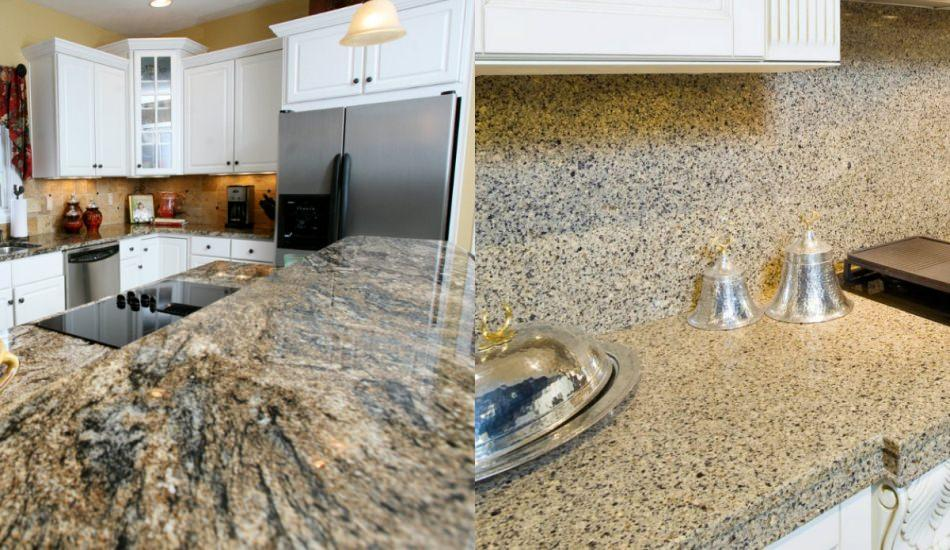 Mermer tezgah ile granit tezgah arasındaki fark nedir?