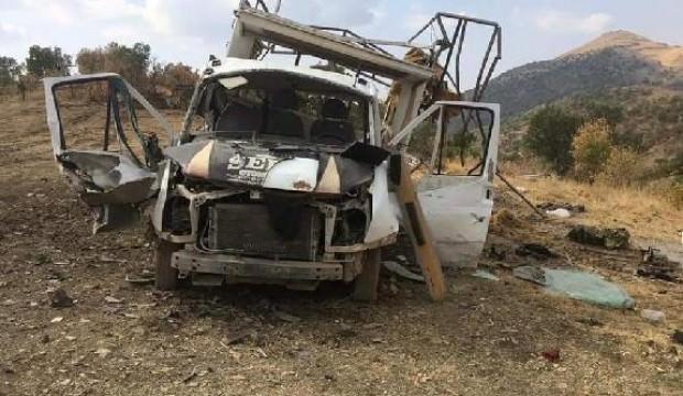 PKK'lılar,orman işçilerine saldırdı: Yaralılar var
