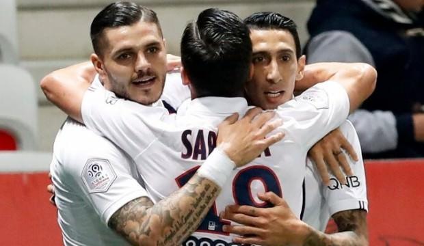 PSG'den 4 gollü galibiyet