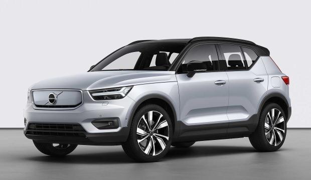 Volvo, ilk elektrikli modeli XC40 Recharge'ı tanıttı