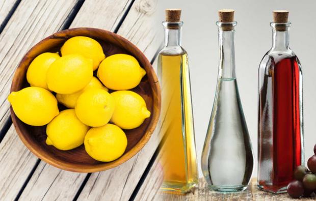 Sirke ve limon