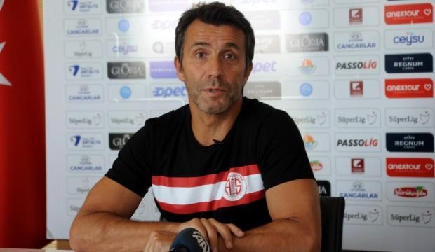 Antalyaspor'dan Bülent Korkmaz açıklaması