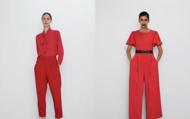 kırmızı renk pantolonlar