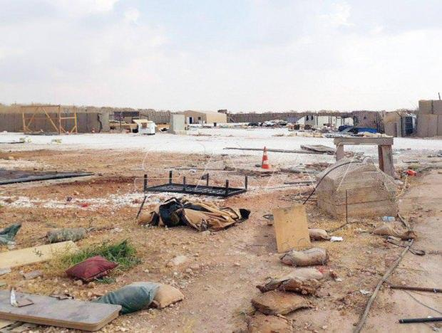 ABD Münbiç güneybatısındaki Saidiye kampını boşalttı.