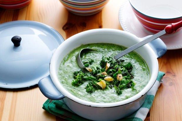ıspanak çorbası yapımı