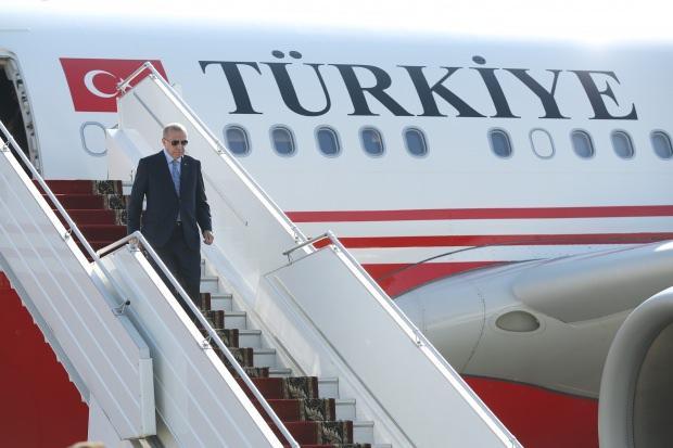 Başkan Erdoğan'ın Rusya'ya indiği an